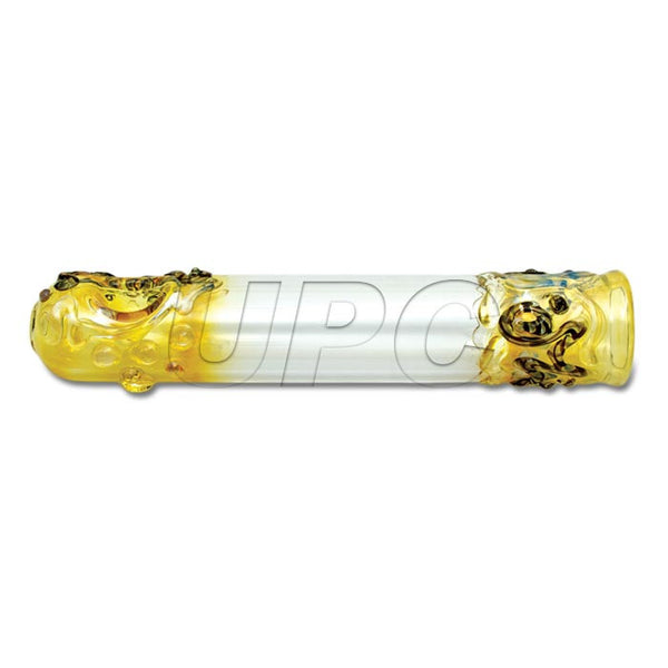 "7.5"" Steamroller Fumed & Worked Glassheads - Head Shop Headquarters"