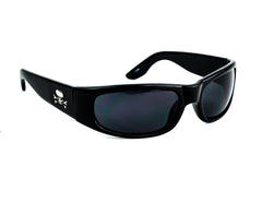 Dark Lens Skull Frame Sunglasses Biker Alternative Fashion Glasses
