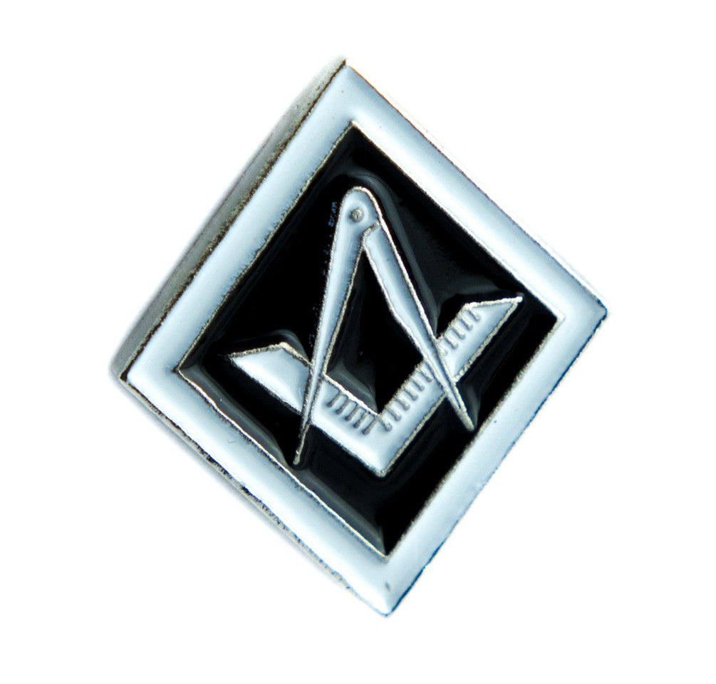 Square and Compass Freemasonry Lapel Pin Alternative Clothing The Illuminati Cult Culture