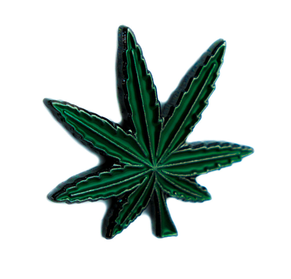 Legalize Pot Leaf Lapel Pin Alternative Clothing Cannabis Weed Joint