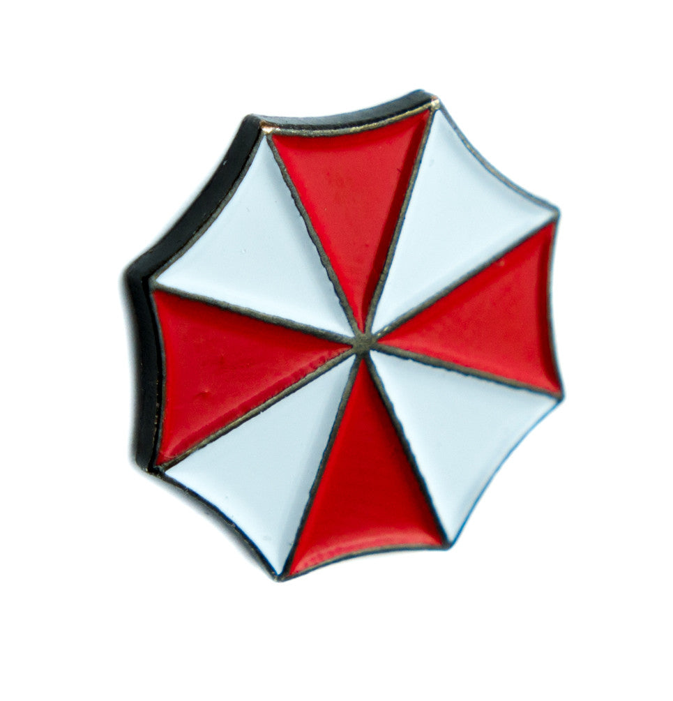 Umbrella Corporation Resident Evil Lapel Pin Alternative Clothing Zombie Horror Movie