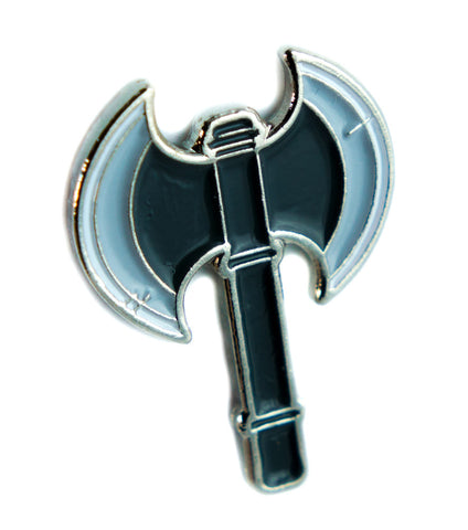 Battle Axe Lapel Pin Alternative Clothing Vikings Fantasy Adventure Cosplay LARP
