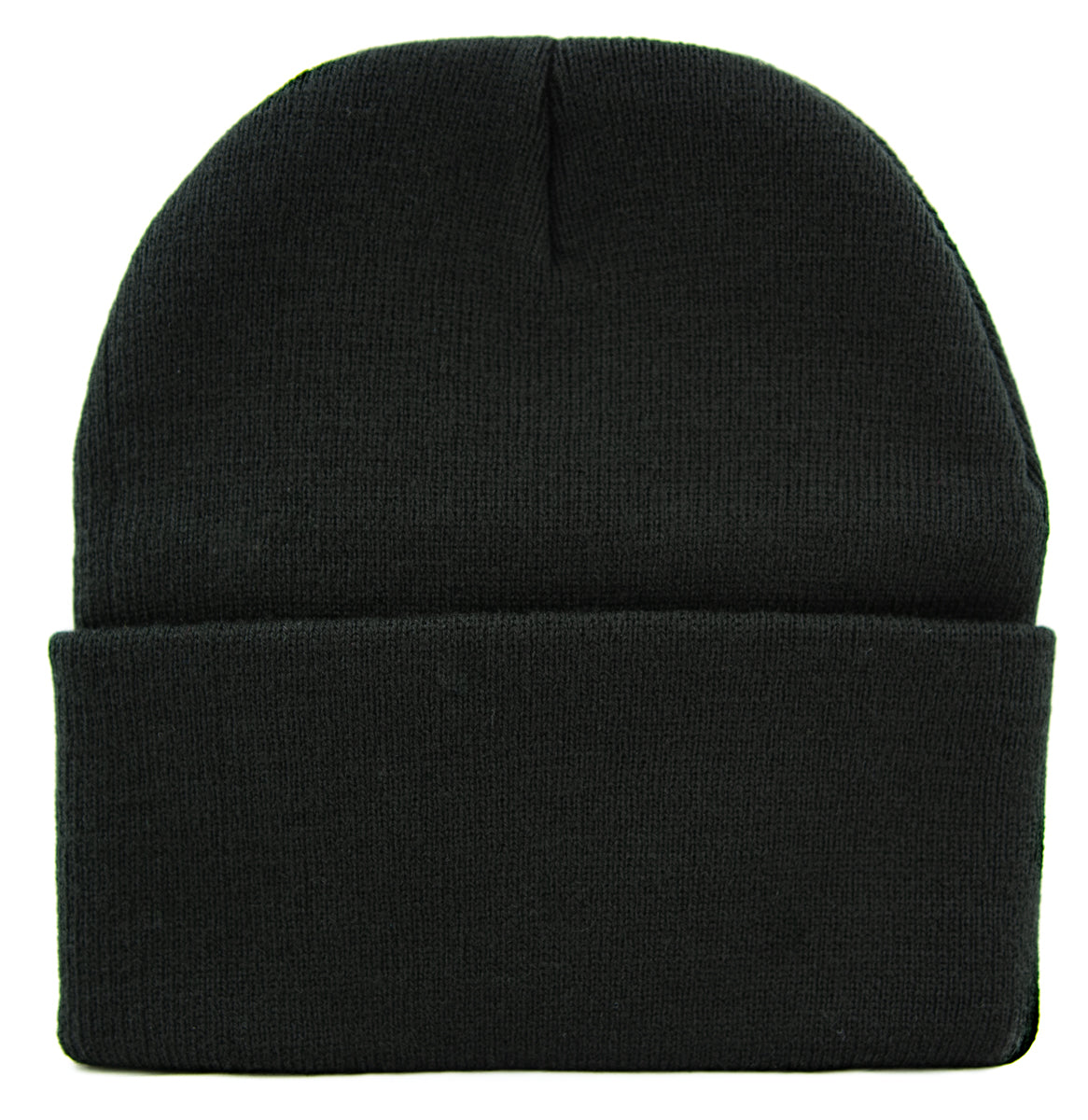 Medieval Holy Gothic Cross Cuff Beanie Knit Cap Occult Alternative Clothing