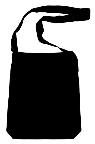 Dark Tourist Sling Bag Tote Grief Tourism Alternative Clothing Thanatourism Book Bag