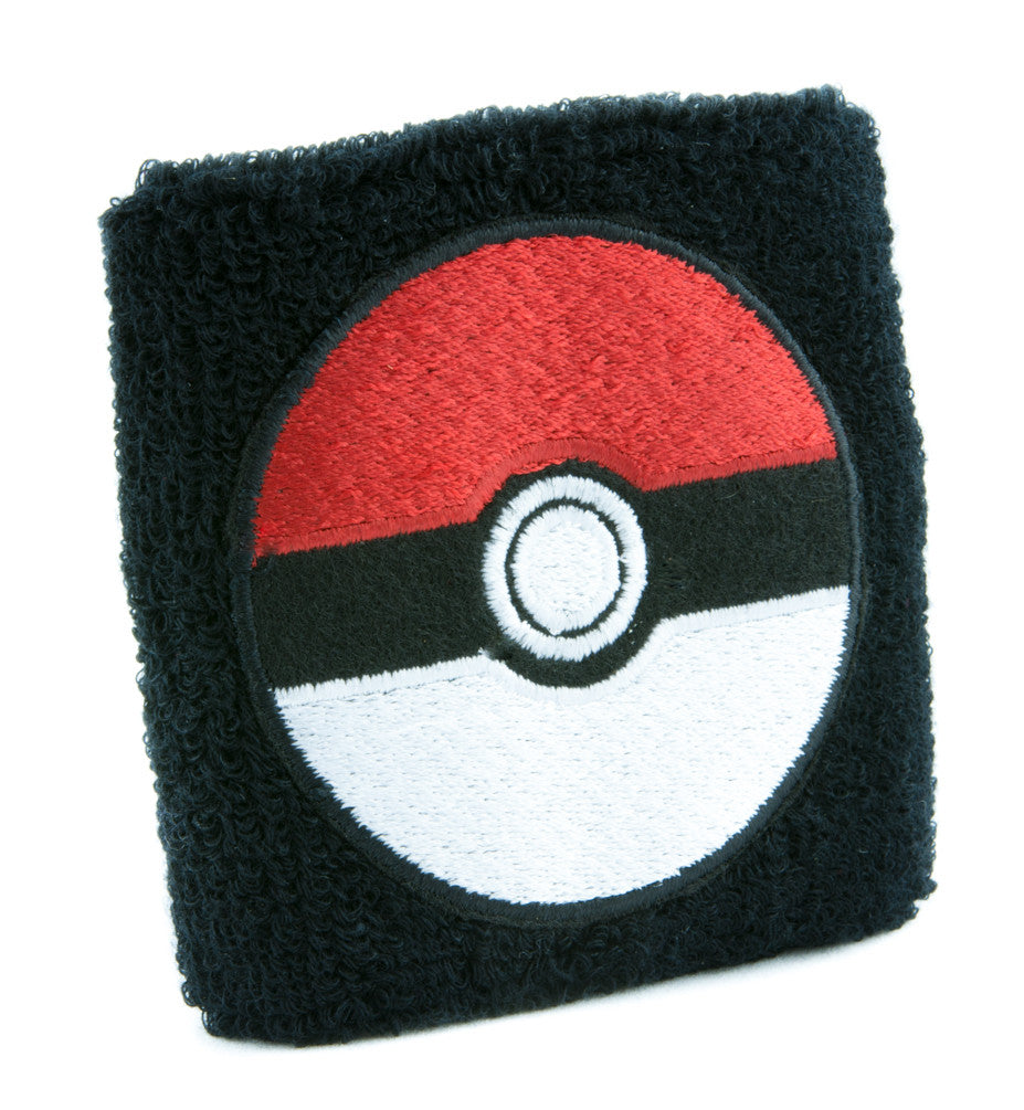 Pokeball Pokemon Go Wristband Sweatband Alternative Gamer Clothing Gotta Catch Em All