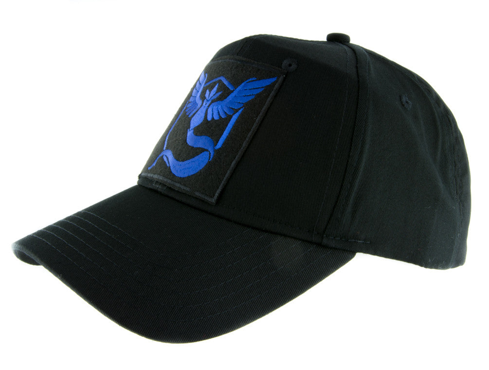 Team Mystic Blue Pokemon Go Hat Baseball Cap Alternative Clothing