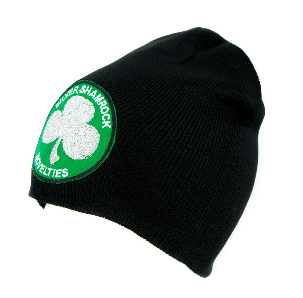 Silver Shamrock Halloween III Beanie Alternative Clothing Knit Cap Season of the Witch