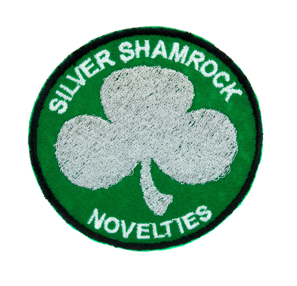 Silver Shamrock Novelties Patch Iron on Applique Halloween III Clothing Horror Movie