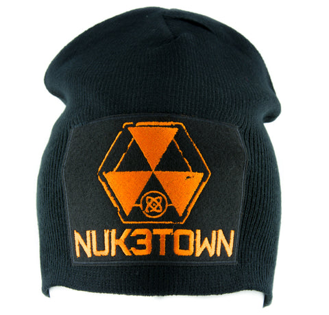 8c57f527277 Nuk3town Call of Duty Beanie Alternative Style Clothing Knit Cap Black Ops  Nuketown