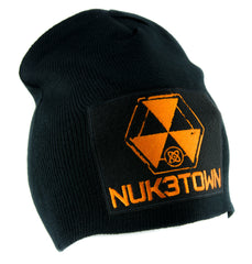 Nuk3town Call of Duty Beanie Alternative Style Clothing Knit Cap Black Ops Nuketown