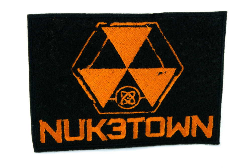 Nuketown Call of Duty Patch Iron on Applique Black Ops Alternative Clothing Nuk3town