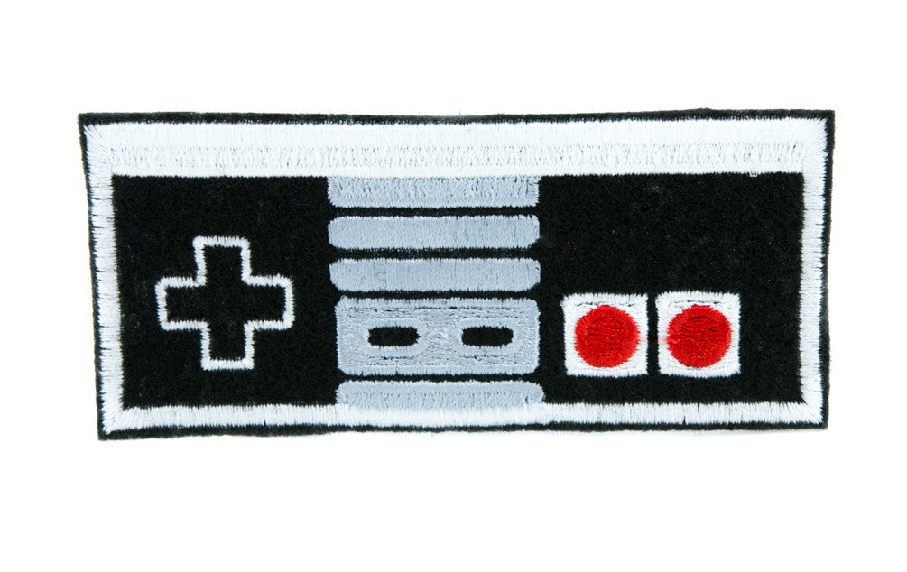 Nintendo Classic Controller Patch Iron on Applique Alternative Clothing NES