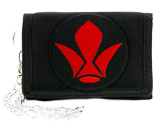 Tekkadan Iron-Blooded Orphans Symbol Tri-fold Wallet Anime Clothing Mobile Suit Gundam