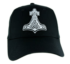 Mjolnir Thor's Hammer Norse Viking Symbol Hat Baseball Cap Alternative Clothing