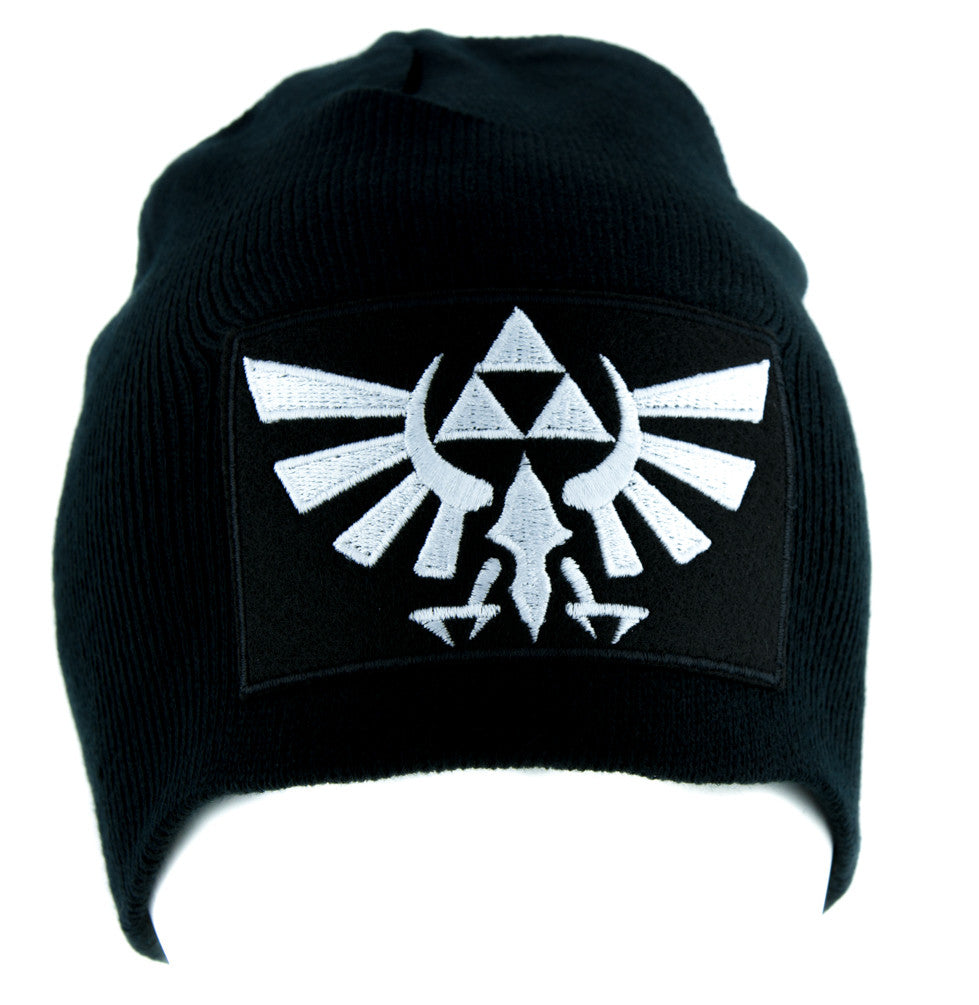 Wingcrest Hyrule Legend of Zelda Triforce Beanie Alternative Clothing Knit Cap