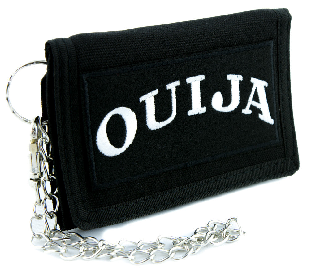 Ouija Spirit Communicator Tri-fold Wallet Occult Clothing Wiccan Ghost Whisper