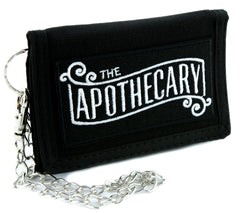 The Apothecary Tri-fold Wallet Alternative Clothing Old World Medicine Man Steampunk