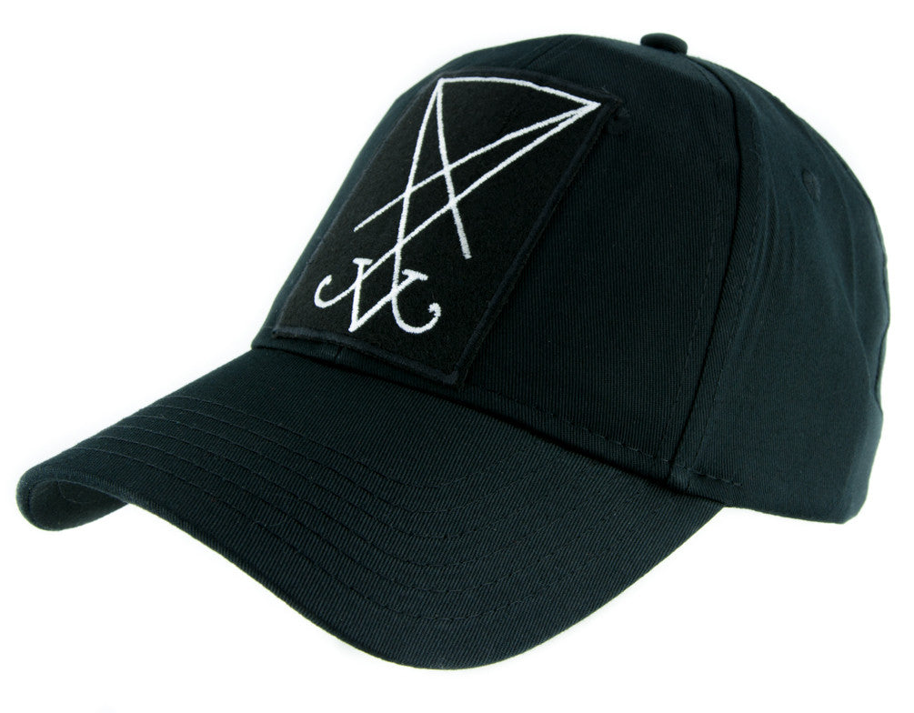 The Sigil of Lucifer Hat Baseball Cap Occult Clothing Seal of Satan Symbol
