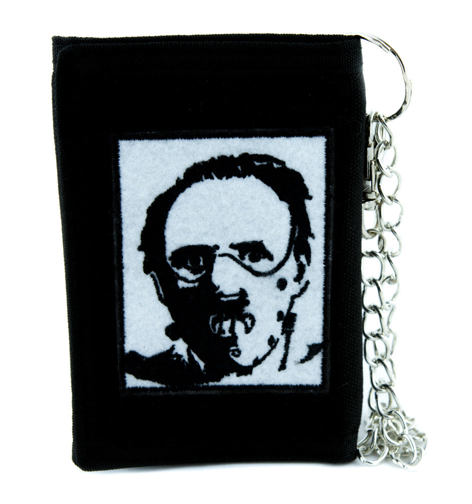 Dr. Hannibal Lecter Tri-fold Wallet Horror Clothing Cult Classic Silence of the Lambs