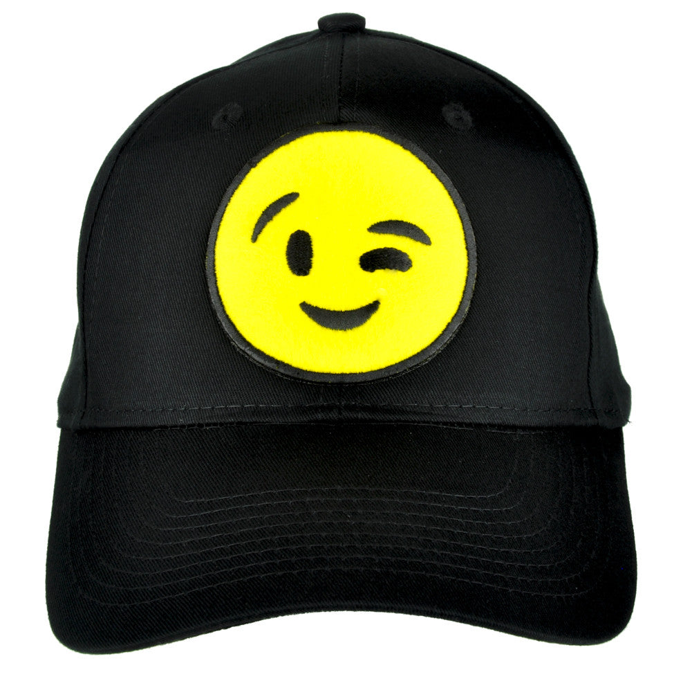 Sexy Winky Face Emoji Hat Baseball Cap Alternative Clothing Flirt