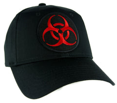 Lethal Red Biohazard Sign Hat Baseball Cap Horror Clothing Zombie Apocalypse