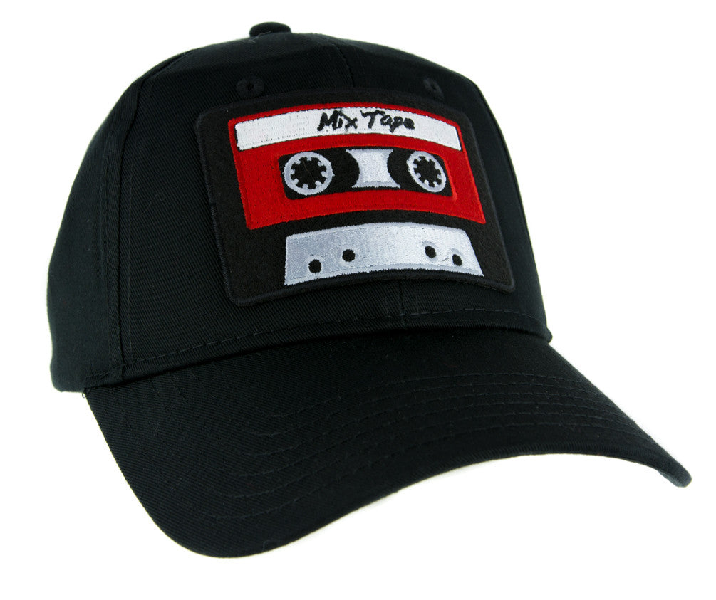80's Nostalgia Cassette Tape Hat Baseball Cap Alternative Clothing Mix Tape