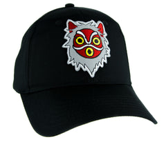 Princess Mononoke San Wolf Mask Hat Baseball Cap Alternative Anime Clothing