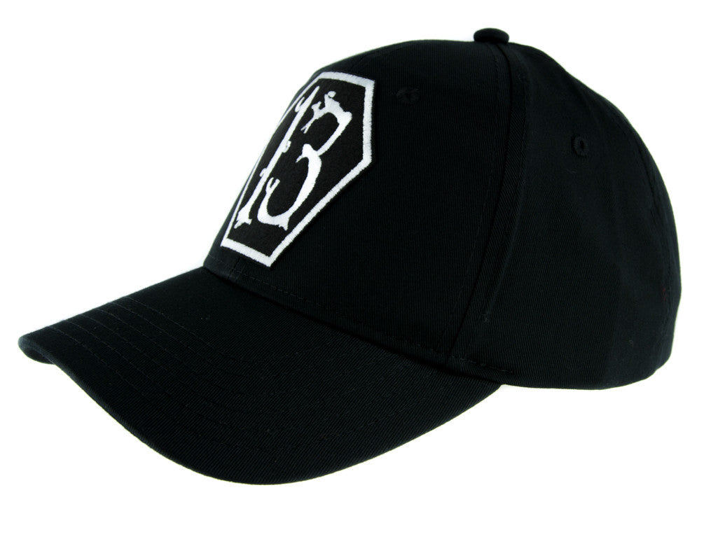 White Coffin Number Thirteen 13 Hat Baseball Cap Alternative Rockabilly Clothing