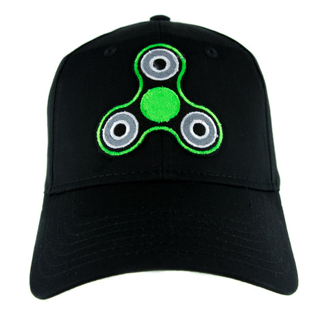 71940f98a24bf Green Fidget Spinner Hat Baseball Cap Alternative Clothing Stress Relieving  Toy