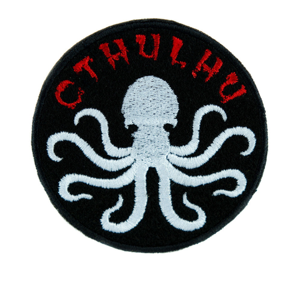 Call of Cthulhu Octopus Elder God Patch Iron on Applique Alternative Clothing DIY