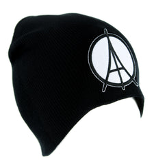 Paris Eiffel Tower Peace Sign Symbol Beanie Knit Cap Alternative Clothing
