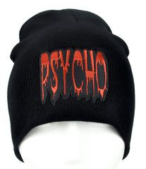Psycho Horror Beanie Alternative Clothing Knit Cap