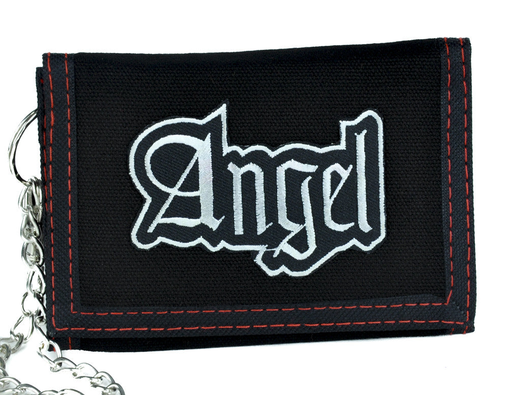 Sexy Angel Tri-Fold Wallet with Chain Alternative Clothing Bad Girl