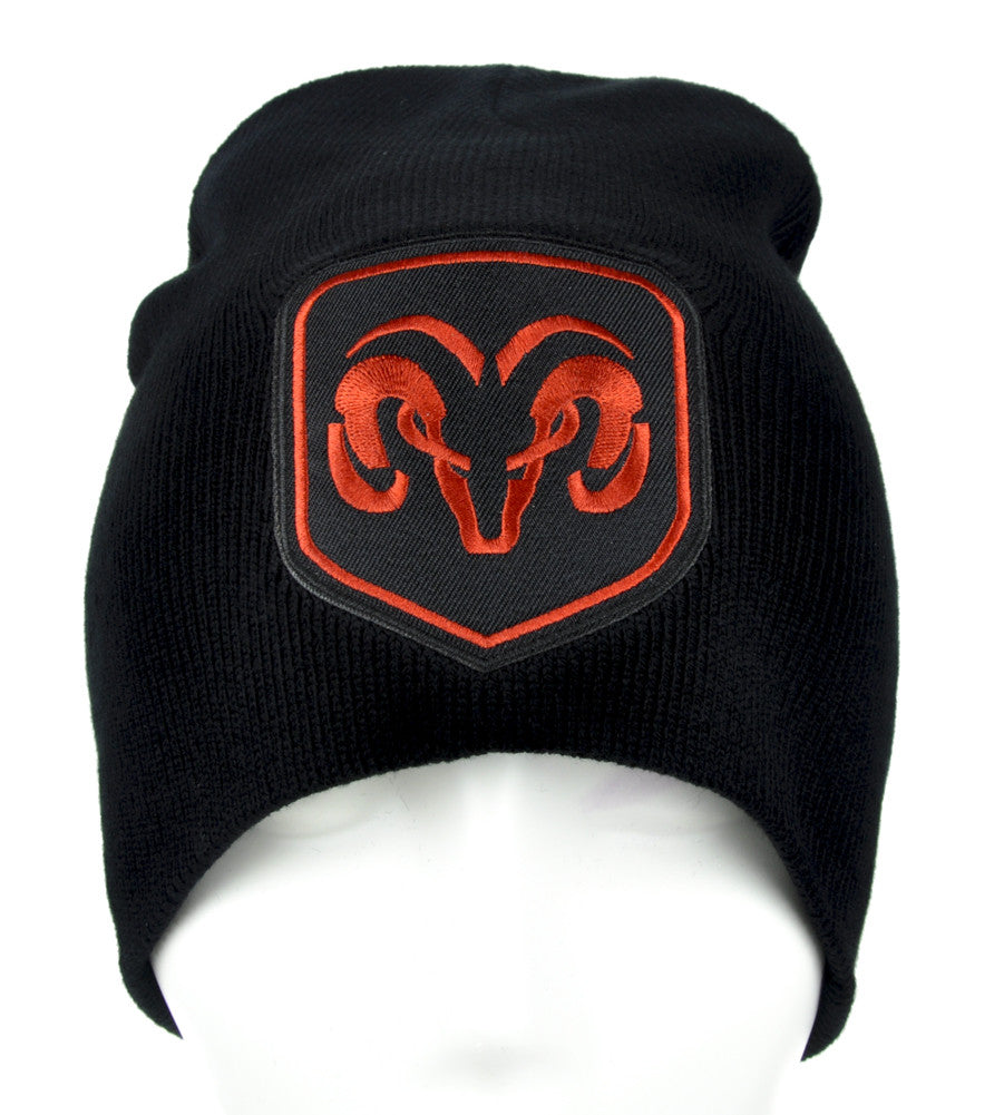 Dodge Ram Truck Beanie Alternative Clothing Knit Cap Auto