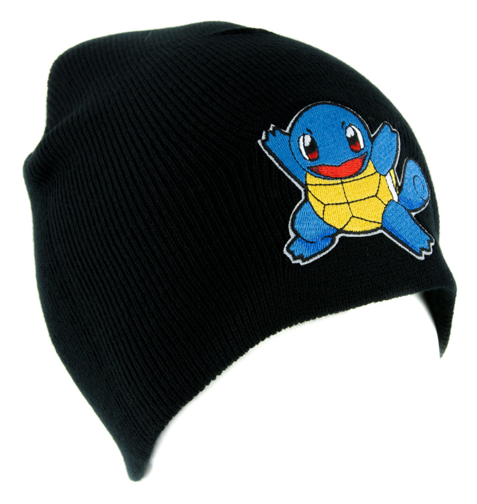 Squirtle Pokemon Go Trainer Beanie Knit Cap Alternative Clothing Gotta Catch Em All