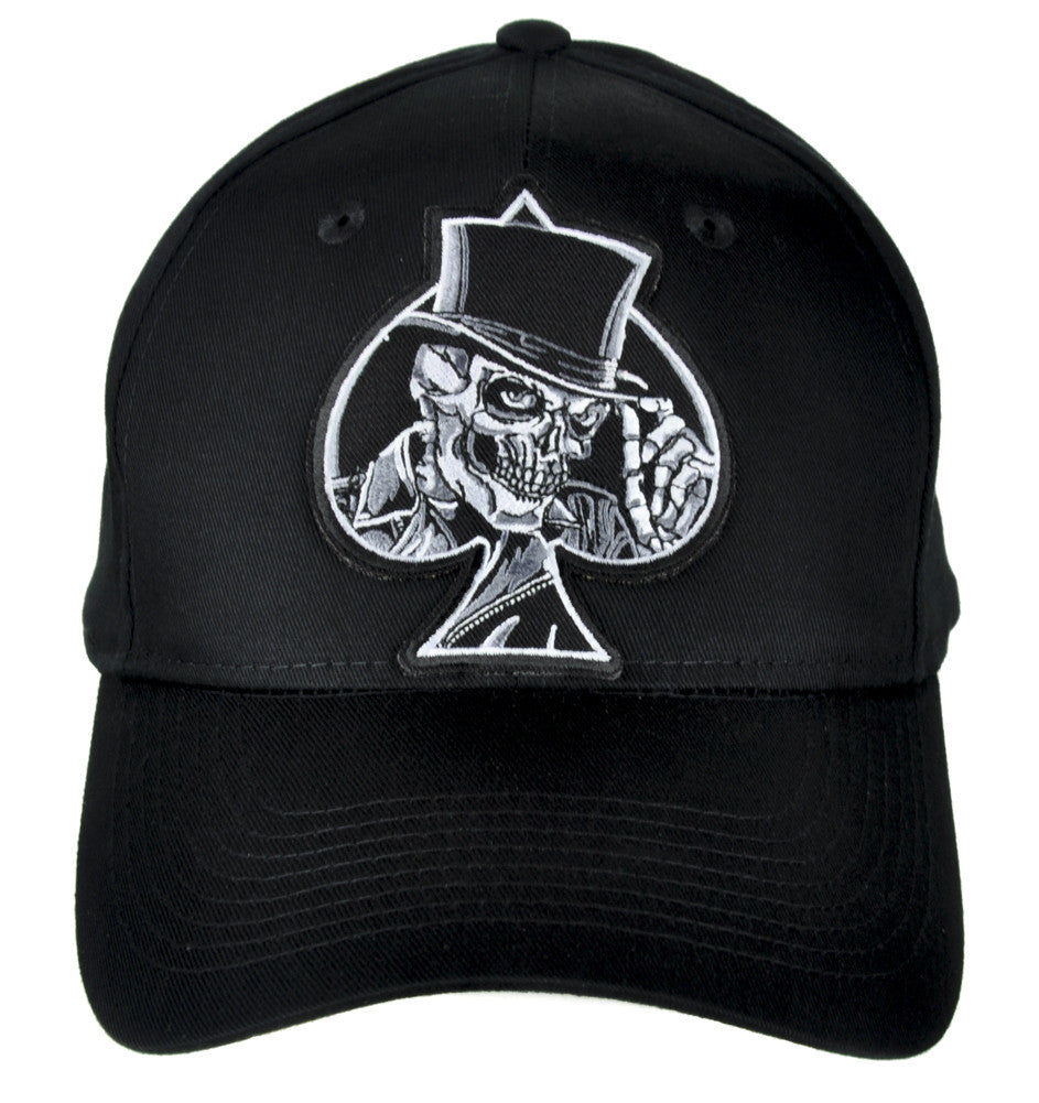 Ace of Spades Skull Hat Baseball Cap Alternative Clothing Motorhead