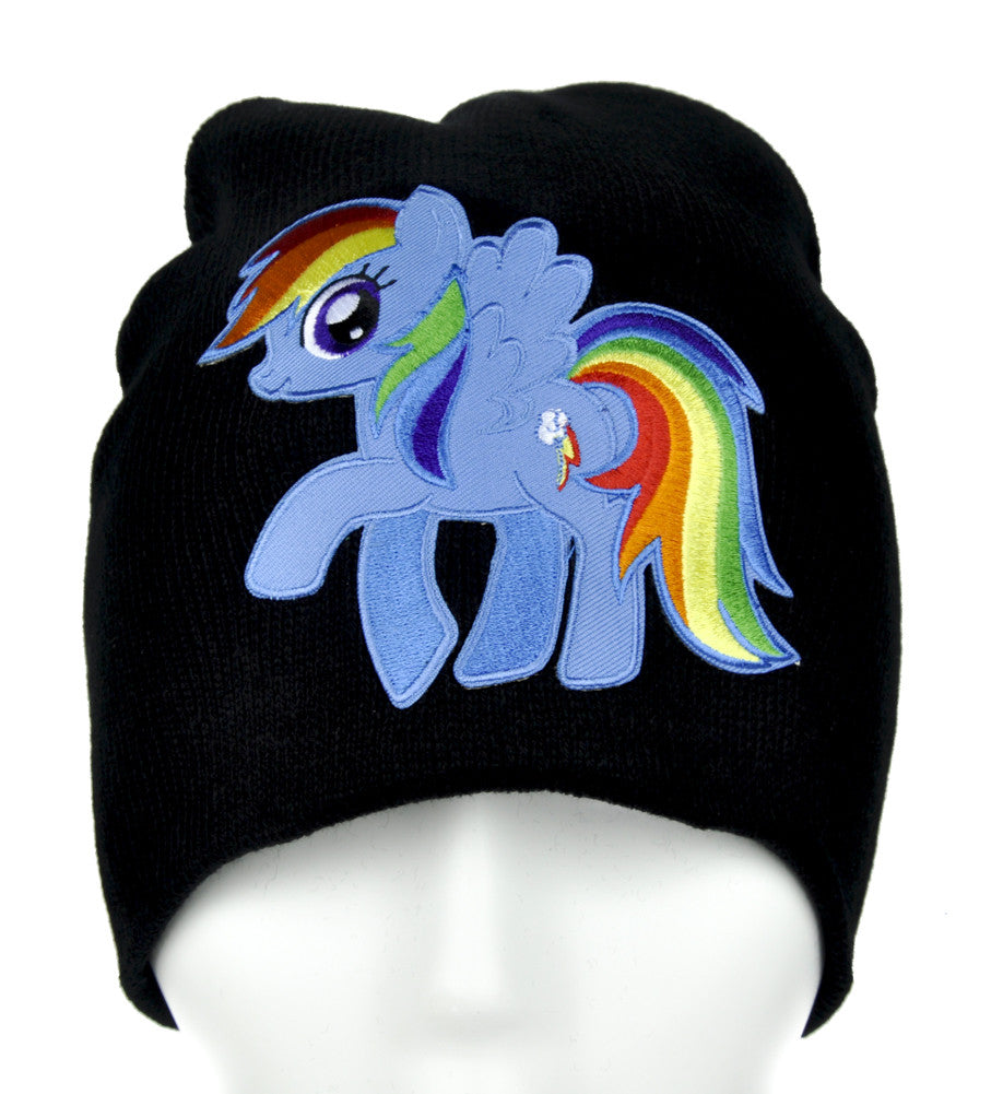 My Little Pony Rainbow Dash Beanie Alternative Clothing Knit Cap