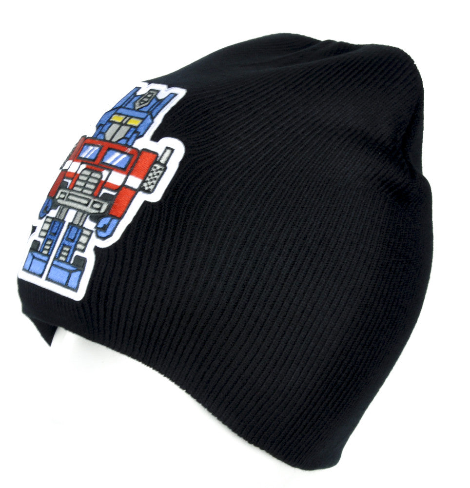 Optimus Prime Transformers Beanie Alternative Clothing Knit Cap