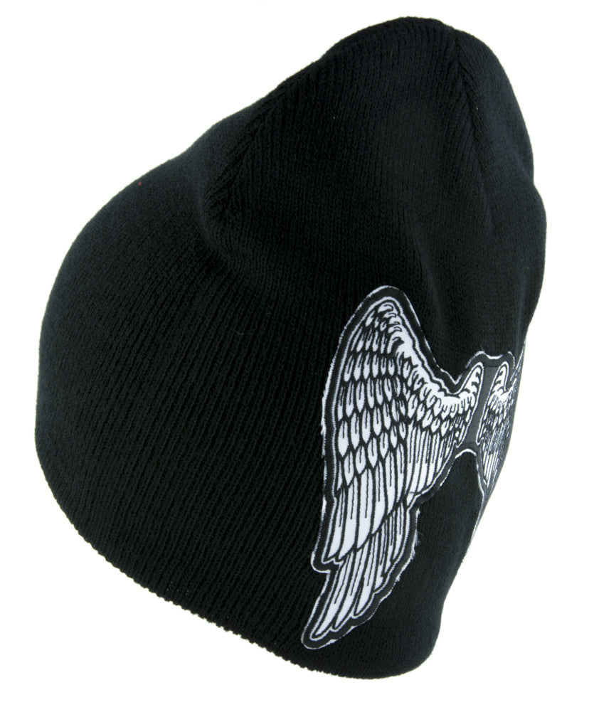 The Walking Dead Daryl Angel Wings Beanie Alternative Style Clothing Knit Cap