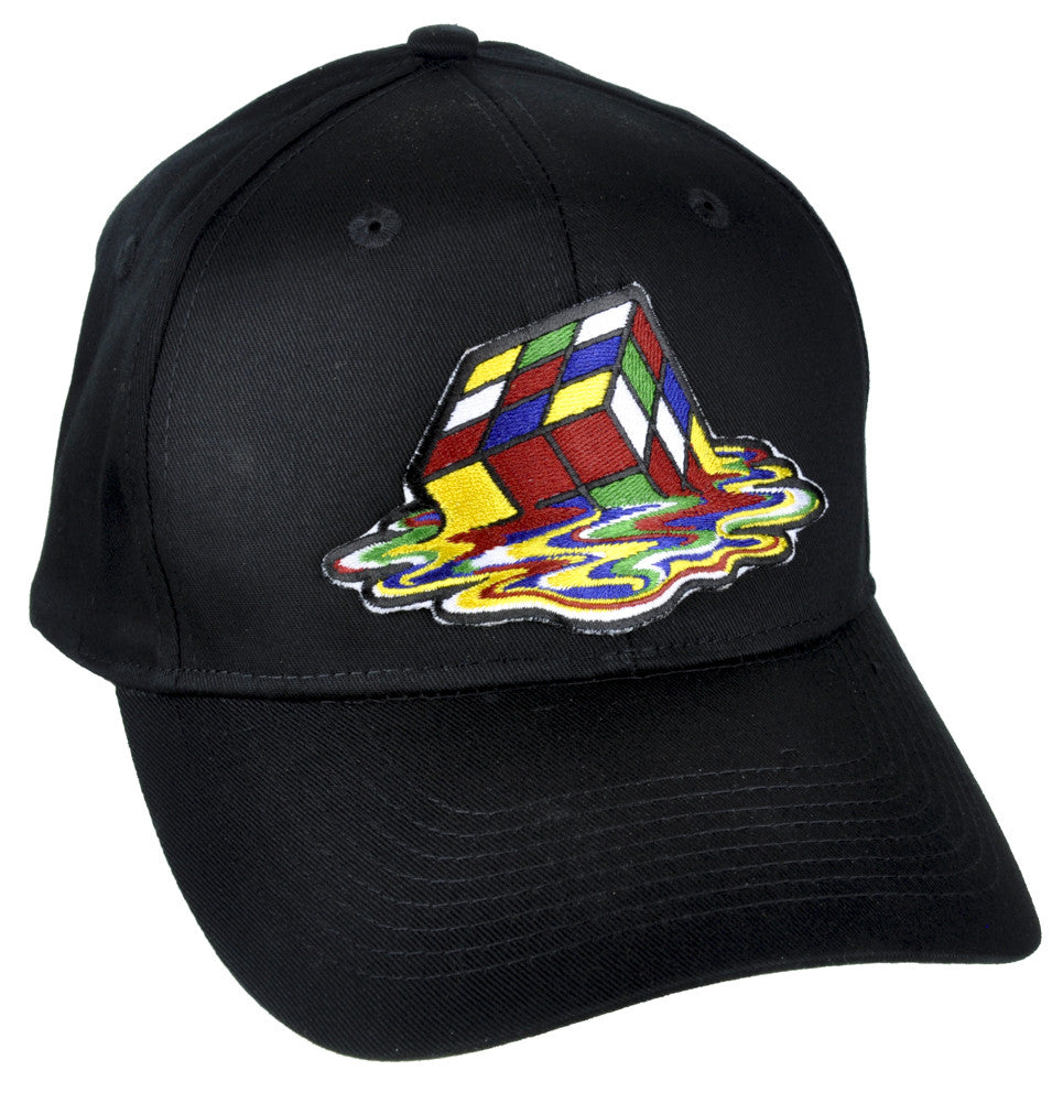 Melting Rubik's Cube Hat Baseball Cap Alternative Clothing Sheldon Cooper