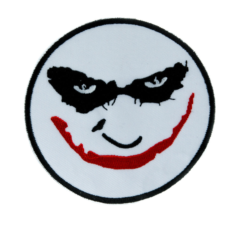 Heath Ledger The Joker Iron on Applique Alternative Clothing The Dark Knight Batman