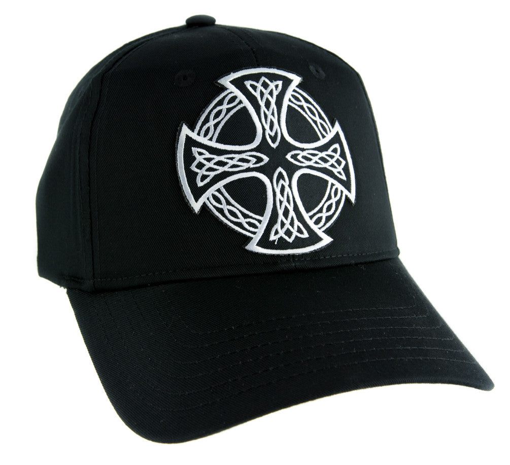 Celtic Iron Cross Hat Baseball Cap Alternative Clothing Sons of Anarchy Biker