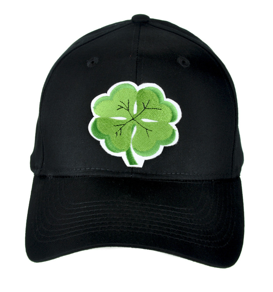 Lucky Four Leaf Clover Hat Baseball Cap Alternative Clothing St. Patricks Day