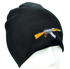 AK-47 Assault Rifle Gun Beanie Alternative Clothing Knit Cap Call of Duty