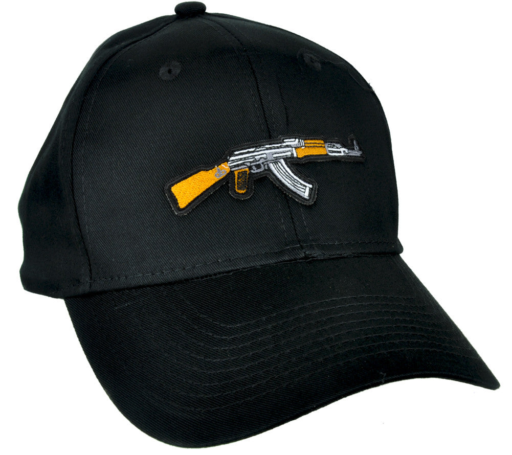 Call of Duty AK-47 Assault Rifle Hat Baseball Cap Alternative Clothing Black Ops Gun