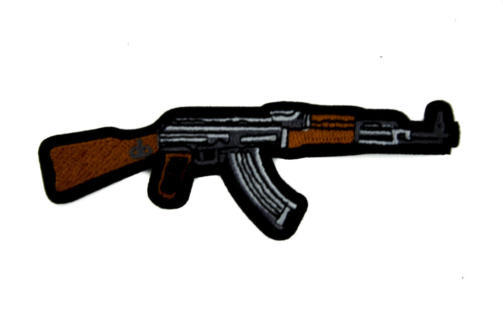 Call of Duty AK-47 Assault Rifle Patch Iron on Applique Alternative Clothing
