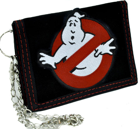 Ghostbusters Tri-fold Wallet with Chain Alternative Clothing