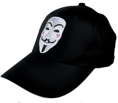 V for Vendetta Mask Hat Baseball Cap Alternative Clothing