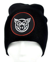 Angry Pig Beanie Alternative Clothing Knit Cap