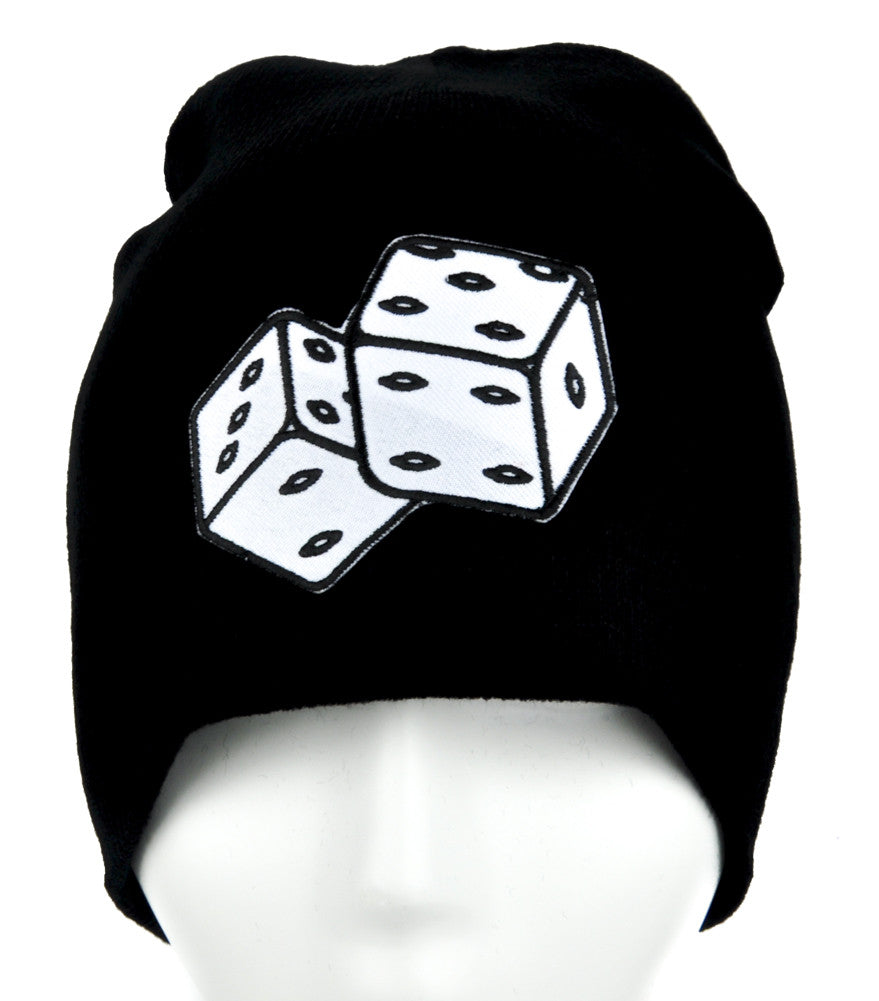 Lucky Roll of the Dice Beanie Alternative Clothing Knit Cap